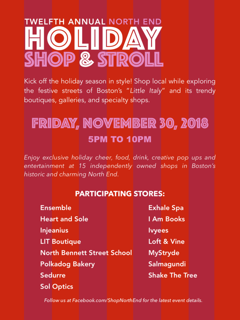 b02bbf8ff1716 12th Annual North EWnd HOLIDAY STROLL – Friday 11 30 (5-10pm)
